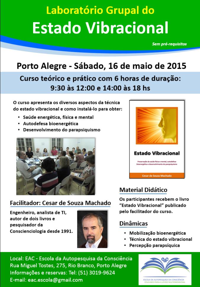 Curso Estado Vibracional Porto Alegre